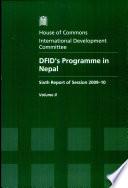 Dfid S Programme In Nepal
