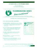 Telecommunications Reports