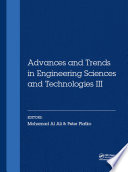 Advances and Trends in Engineering Sciences and Technologies III