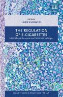 The Regulation of E-cigarettes Pdf