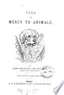 Plea for mercy for animals