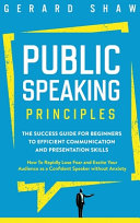 Public Speaking Principles