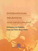 International Migration and the Global Community