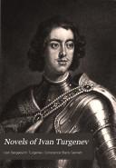 Novels of Ivan Turgenev Pdf/ePub eBook