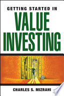 Getting Started in Value Investing Book