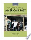 Voices Of The American Past Book