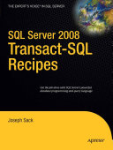 SQL Server 2008 Transact SQL Recipes