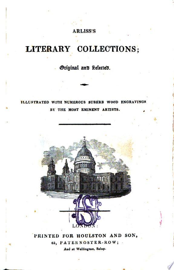Arliss's literary collections, etc