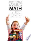 Making Math Stick