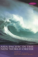 Asia Pacific in the New World Order