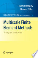 Multiscale Finite Element Methods