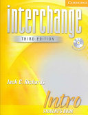 Interchange Intro 3rd Ed Student's Book with Audio CD