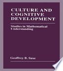 Culture And Cognitive Development Book PDF