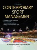 Contemporary Sport Management, 5E