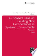 A Focused Issue on Building New Competences in Dynamic Environments Book