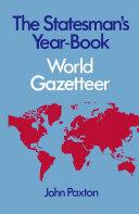 Pdf Statesman's Yearbook World Gazetteer Telecharger