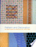 Pattern and Decoration