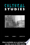 Read Online Cultural Studies For Free