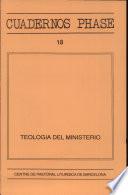 Teología del ministerio