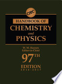 CRC Handbook of Chemistry and Physics, 97th Edition