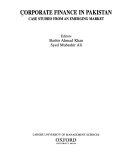 Corporate Finance in Pakistan Book