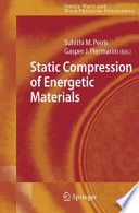 Static Compression of Energetic Materials Book