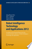 Robot Intelligence Technology and Applications 2012
