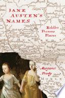 Jane Austen s Names