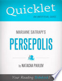 Quicklet on Marjane Satrapi s Persepolis  CliffNotes like Summary  Book