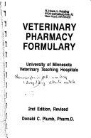 Veterinary Pharmacy Formulary