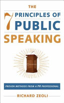 The 7 Principles of Public Speaking Book PDF
