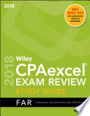 Wiley CPAexcel Exam Review 2018 Study Guide Book