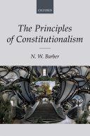 The Principles of Constitutionalism Pdf/ePub eBook