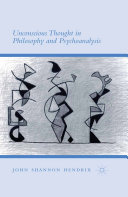 Unconscious Thought in Philosophy and Psychoanalysis Pdf/ePub eBook