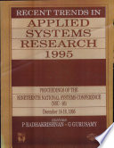 Recent Trends In Applied Systems Research 1995