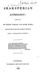 Shaksperian Anthology