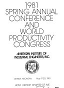 Spring Annual Conference And World Productivity Congress