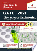 GATE 2021  Life Science Engineering   30 Subject wise Sectional Test Papers