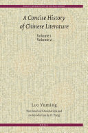 A Concise History of Chinese Literature