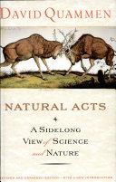 Natural Acts