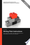 Writing Plain Instructions