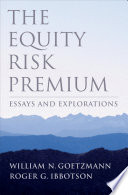 The Equity Risk Premium Book