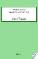 Ancient Indian Tradition And Mythology Volume 48