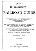 Great Trans continental Railroad Guide