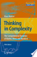 Thinking In Complexity Book PDF