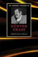 The Cambridge Companion to G  nter Grass