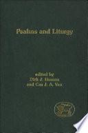 Psalms and Liturgy