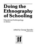 Doing the Ethnography of Schooling Book PDF