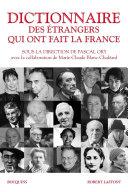Pdf Dictionnaire des étrangers qui ont fait la France Telecharger