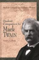 Student Companion to Mark Twain